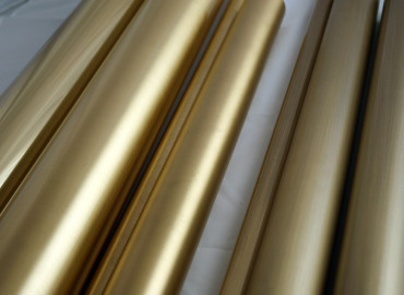 Alrisha Polished Brass + Clear Gloss - Astor Metal Finishes Brasses