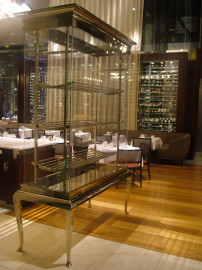 Antares Polished Nickel @ Glass Redtaurant, The HIlton, Sydney