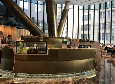 ARIETIS finish at Westfield Head Office  _ATRIO cafe