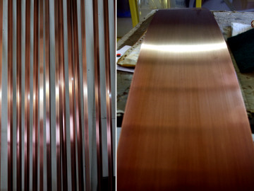 Canopus - Antique Copper and Clear Gloss