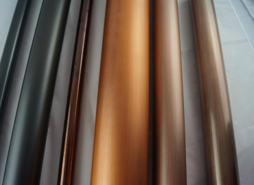 Aged Copper plated aluminium tubes