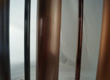 Bootis Aged Copper + Clear Gloss to aluminium tube