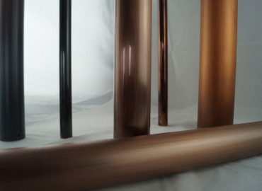 AQUARII Antique Copper to aluminium tube (horizontal)