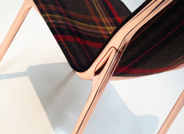 VIRGINIS Polished Copper to Wilkhahn Chassis chair