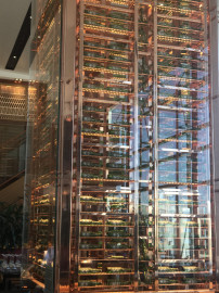 VIRGINIS Polished Copper to mild steel tower Sydney Airport