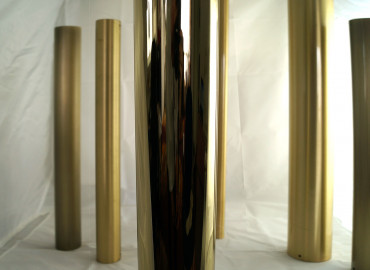 Auriga, Polished Nickel + Brass Gloss PNBRASSL