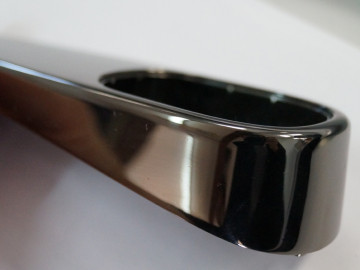 Orionis PBNGL Polished Black Nickel with Clear Gloss