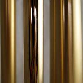 Pavonis Polished Gold plated with clear gloss PGGL