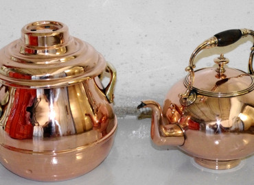 Virginis Polished Copper with Clear Gloss PCGL