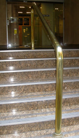 ALRISHA NATURAL Polished Brass Unlacquered