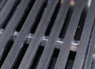 PROCYON NATURAL on stainless linear grate